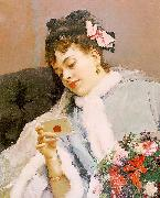 Raimundo de Madrazo y  Garreta Untitled oil painting artist
