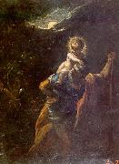 Adam  Elsheimer St.Christopher oil painting