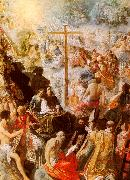 Adam  Elsheimer The Glorification of the Cross oil painting