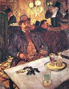 Henri  Toulouse-Lautrec M. Boileau Au Cafe oil painting picture wholesale