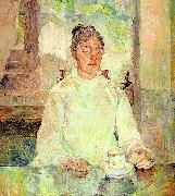 Henri  Toulouse-Lautrec Comtesse Adele-Zoe de Toulouse-Lautrec (The Artist's Mother) oil painting picture wholesale