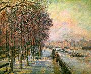 J B Armand  Guillaumin La Place Valhubert, Paris oil painting picture wholesale