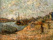 J B Armand  Guillaumin Le Quai de Bercy oil painting picture wholesale