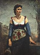Jean Baptiste Camille  Corot Agostina2 oil painting picture wholesale