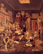Johann Zoffany Charles Towneley's Library in Park Street oil painting
