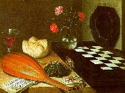 Lubin Baugin Still Life with Chessboard Spain oil painting reproduction