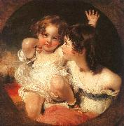 Sir Thomas Lawrence The Calmady Children oil