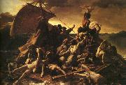 Theodore   Gericault The Raft of the Medusa oil painting artist