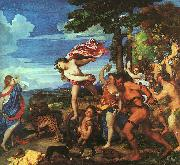 Titian Bacchus and Ariadne oil