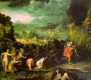 ABBATE, Niccolo dell The Rape of Proserpine  gfgf oil