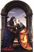 ALBERTINELLI  Mariotto Visitation jj oil painting picture wholesale