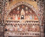 ANDREA DA FIRENZE Triumph of St Thomas and Allegory of the Sciences oil painting picture wholesale