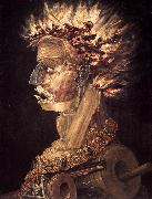ARCIMBOLDO, Giuseppe The Fire jhjhjh oil