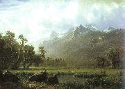 Albert Bierstadt The Sierras near Lake Tahoe, California oil painting picture wholesale