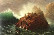 Albert Bierstadt Seal Rock oil painting picture wholesale