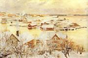 Albert Edelfelt December Day oil painting picture wholesale