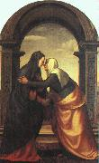 Albertinelli, Mariotto The Visitation oil painting artist