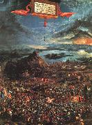 Albrecht Altdorfer The Battle of Alexander oil