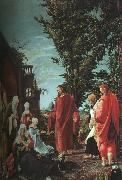 Albrecht Altdorfer Christ Taking Leave of His Mother oil
