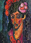 Alexei Jawlensky Spanish Woman oil painting