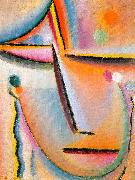 Alexei Jawlensky Meditation oil painting
