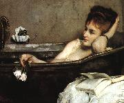 Alfred Stevens The Bath (san06) oil