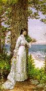 Alfred Thompson Bricher Under The Seaside Tree oil painting artist
