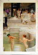 Alma Tadema Alma Tadema reproductions, photographed in  our studio Spain oil painting reproduction