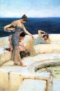 Alma Tadema Silver Favourites oil painting picture wholesale