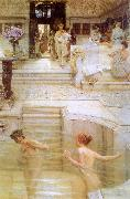 Alma Tadema A Favorite Custom Spain oil painting reproduction