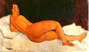 Amedeo Modigliani Nude, Looking Over Her Right Shoulder oil