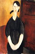 Amedeo Modigliani Paulette Jourdain oil painting picture wholesale