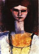 Amedeo Modigliani Bust of a Young Woman oil painting picture wholesale