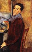 Amedeo Modigliani self portrait oil painting picture wholesale