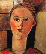 Amedeo Modigliani Red Haired Girl oil painting picture wholesale