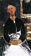 Amedeo Modigliani La Fantesca oil painting picture wholesale