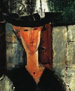 Amedeo Modigliani Madam Pompadour oil painting reproduction