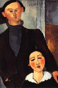 Amedeo Modigliani Jacques and Berthe Lipchitz oil painting picture wholesale