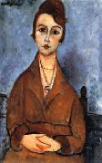Amedeo Modigliani Young Lolotte oil painting picture wholesale