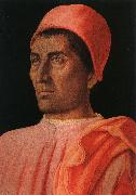 Andrea Mantegna Portrait of the Protonary Carlo de Medici oil painting picture wholesale