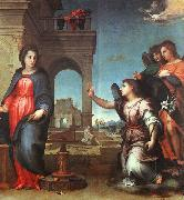 Andrea del Sarto The Annunciation oil painting artist