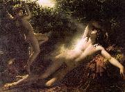 Anne-Louis Girodet-Trioson Endymion Asleep oil painting artist