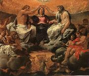 Annibale Carracci  The Coronation of the Virgin oil painting artist
