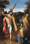 Annibale Carracci Christ Appearing to Saint Peter on the Appian Way oil painting artist