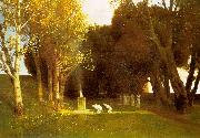 Arnold Bocklin The Sacred Wood Spain oil painting reproduction