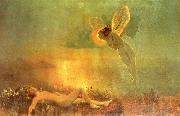 Atkinson Grimshaw Endymion on Mount Latmus oil painting artist