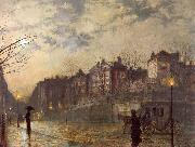 Atkinson Grimshaw Hampstead oil painting picture wholesale