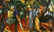 August Macke Zoological Garden I oil painting picture wholesale