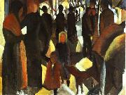 August Macke Leave Taking oil painting picture wholesale