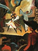 August Macke Russian Ballet I oil painting picture wholesale